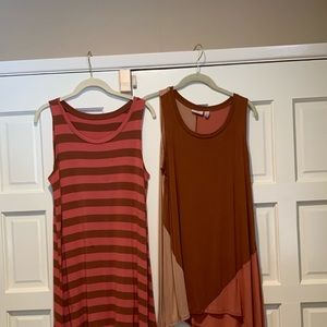 2 Logo tunic tops